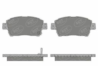 Front Brake Pads for Toyota