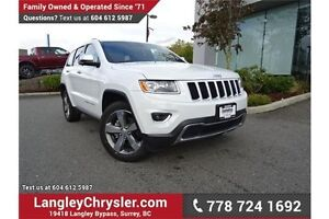 2015 Jeep Grand Cherokee Limited W/ PADDLE SHIFTERS & NAVIGATION