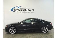 2012 Audi A5 S LINE- 6 SPEED! AWD! SUNROOF! HEATED LEATHER!