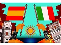 Spanish and Italian Private Lessons for Beginners