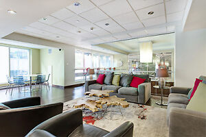 Spacious loft, gym, pool, theater, old port- downtown