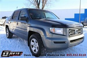 2008 Honda Ridgeline LX Local trade! Cruise control!