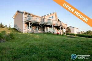 Custom built, 3 bedroom bungalow with stunning view!!!