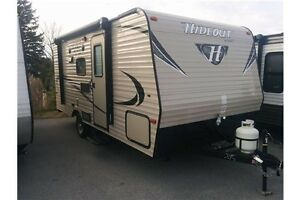 2016 Keystone HIDEOUT 175LHS TRAVEL TRAILER TRAVEL TRAILER