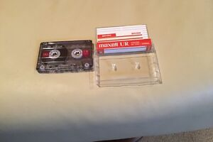 Maxwell UR 90 cassette tapes