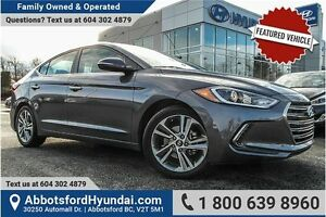2017 Hyundai Elantra Limited EXCELLENT CONDITON & CERTIFIED A...