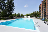 Pool, gym, and media room! Apartments for rent in Aylmer!