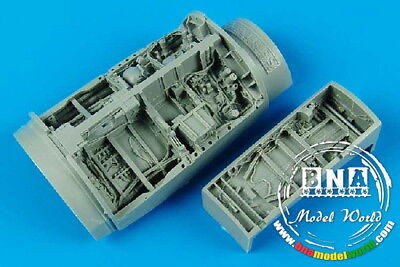 Aires 4370 1/48 F-16C Falcon Wheel Bays for Tamiya kit
