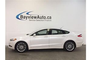 2013 Ford FUSION SE- AWD! ECOBOOST! SUNROOF! LEATHER! NAV! BLIS!