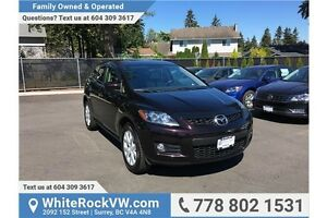 2008 Mazda CX-7 GT NO ACCIDENTS, LOW KM'S, EXCELLENT CONDITION
