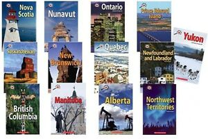 Canada Up Close book series by Scholastic