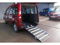 Wheelchair Accessible Renault Kangoo 1.6 auto Expression