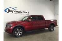 2013 Ford F150 FX4- 5L! REMOTE START! SUNROOF! LEATHER! NAV!
