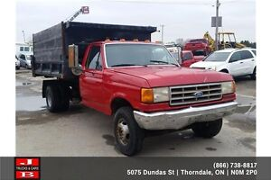 1990 Ford F-350 Roll off truck London Ontario image 3