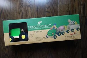 Discoveroo Farm Wooden Toy