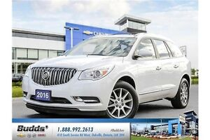 2016 Buick Enclave Leather WOW !! SAVE THOUSANDS COMPARED TO NEW