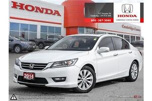 2014 Honda Accord EX-L LEATHER INTERIOR | SUNROOF | LANEWATCH DE Cambridge Kitchener Area image 1