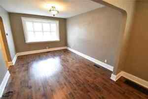 Newly renovated 2 bedroom bungalow available in East York