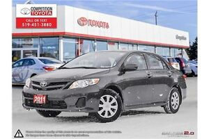 2011 Toyota Corolla CE One Owner, Toyota Serviced