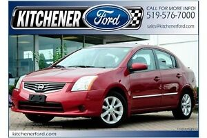 2012 Nissan Sentra 2.0 (CVT)/LEATHER/SUNROOF/HTD SEATS
