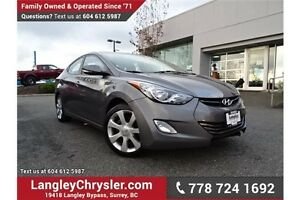2011 Hyundai Elantra Limited W/ VOICE COMMAND BLUETOOTH & HEA...