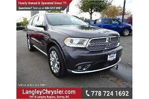 2016 Dodge Durango Citadel ACCIDENT FREE & FULLY LOADED!