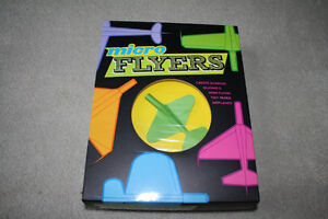 BRAND NEW - MICRO FLYERS PAPER AIRPLANE KIT