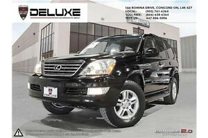 2007 Lexus GX 470 LOADED NAVI $199.60 BI WEEKLY TAX IN