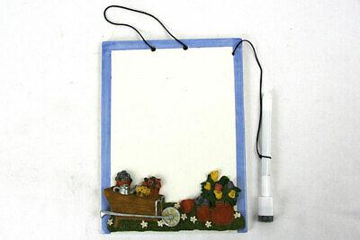 Ceramic Dry Erase Board - Cardinal Inc Noteables - Flower Pots
