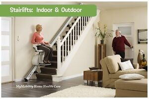 New Straight Stair Lift up to 14 steps $ 2,895.00 NO HST.