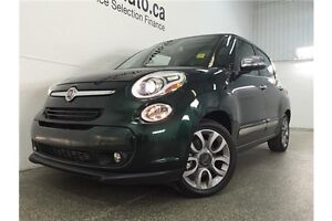 2015 Fiat 500L LOUNGE- TURBO! PANOROOF! HEATED LEATHER! NAV! Belleville Belleville Area image 3