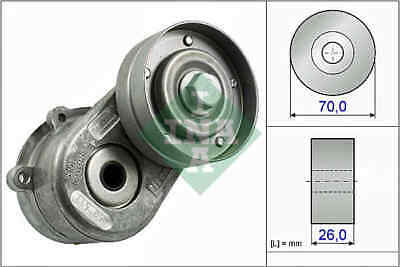 FORD KA 1.6 Aux Belt Tensioner 00 to 08 Drive V-Ribbed INA 1149701 1340774 New