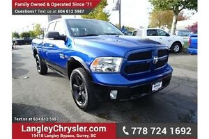2014 RAM 1500 SLT W/ REAR-VIEW CAMERA & TOW PACKAGE