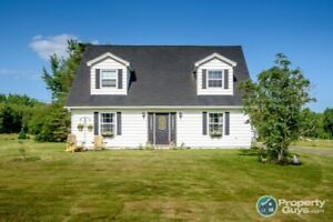 1.5 storey home on over 3 ac, many upgrades have been done!