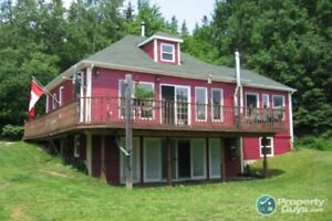 WATERFRONT  Completely renovated, 2 bdrm on 2 acres