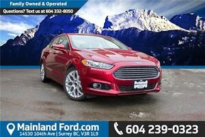 2013 Ford Fusion Titanium LOCAL, ONE OWNER