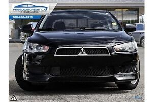 2011 Mitsubishi Lancer Black and Fast... Get Financed with us!! Edmonton Edmonton Area image 2