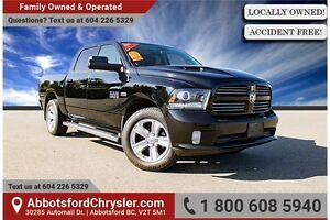 2013 RAM 1500 Sport W/ Navigation & Backup Camera