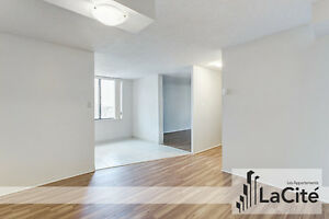 Spacious Loft-Style1 Bedroom High Floor Apartment in the Plateau