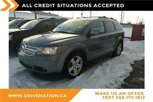 2009 Dodge Journey SXT 7 passenger, remote start, AWD!
