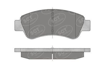 Front Brake Pads for Citroen, Peugeot