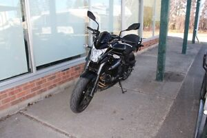 2014 Kawasaki Ninja with low mileage