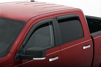 AVS 09-18 Dodge RAM 1500 Crew Cab Ventvisor Outside Mount Window Deflectors 4pc
