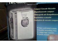 New Sanyo TRC-860C Cassette Recorder