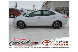 2014 Toyota Corolla S Local One Owner, Leather, Heated Seats,...