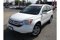 2011 HONDA CR-V EX AWD - CLOTH INTERIOR - SUNROOF