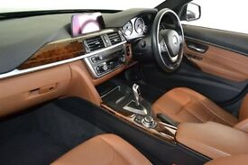 BMW 3 Series 320d Luxury. Saddle Brown leather seats, Interior lighing package, Sat Nav, revese Cam