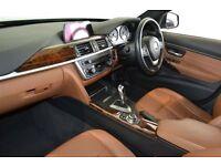 BMW 3 Series 320d Luxury. Saddle Brown leather seats, Interior lighing package, Sat Nav, revese Cam
