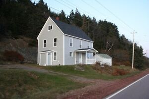 Furnished four season home overlooking the Bay of Fundy