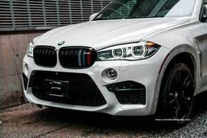 2016 BMW X6 M *567 horsepower & 553 torque + white on red* X6M